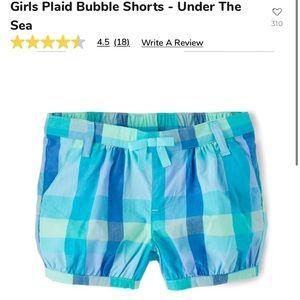 Baby girls 👧 Gymboree bubble shorts 🩳